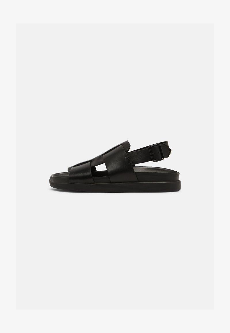 Clarks - SUNDER STRAP - Sandals - black