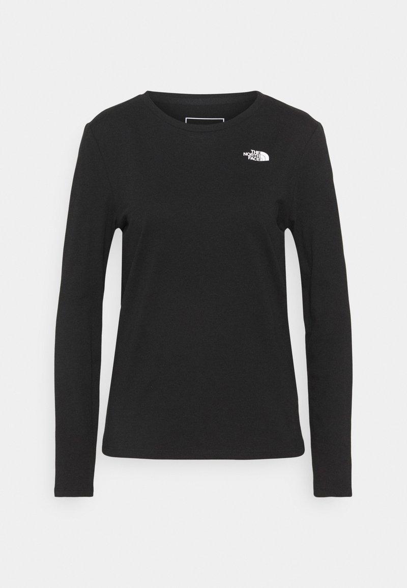 The North Face - SEASONAL TEE  - Long sleeved top - black