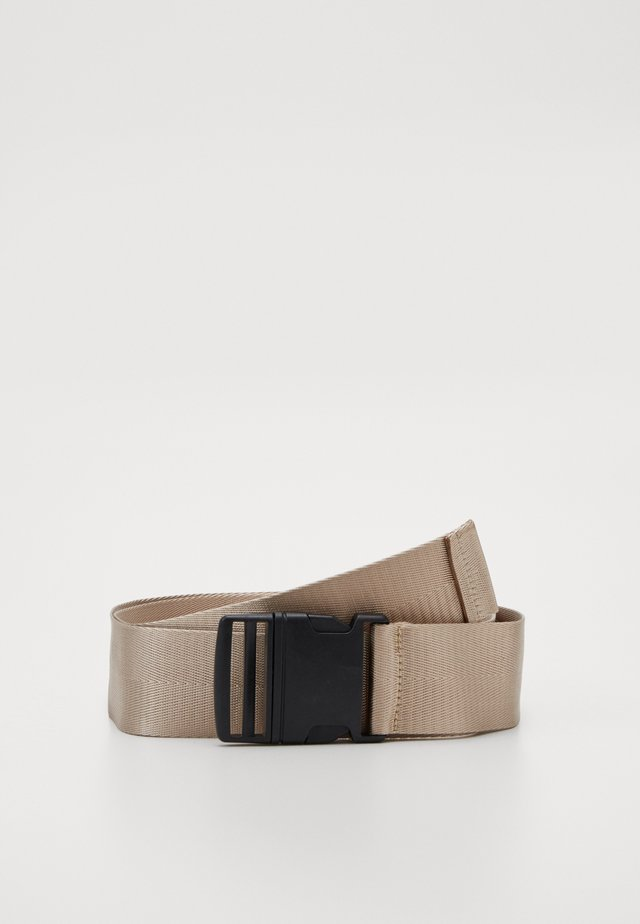 BUCKLE BELT - Ceinture - taupe