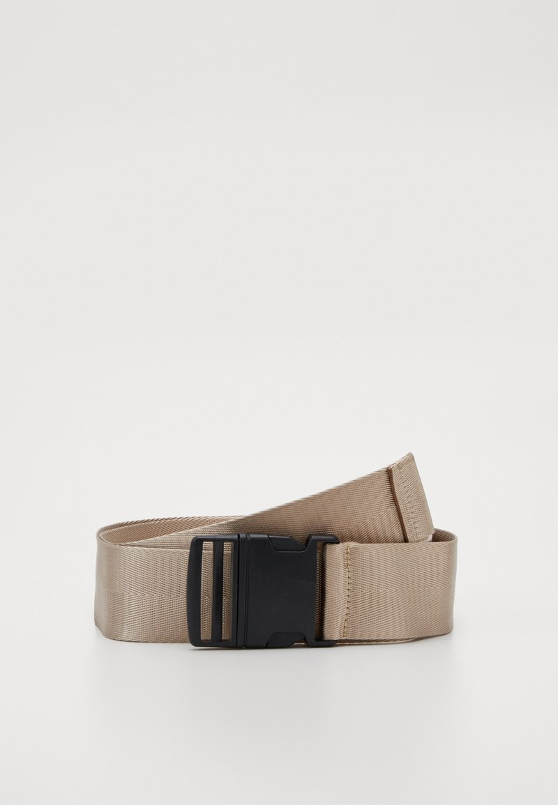Missguided - BUCKLE BELT - Belt - taupe