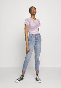 Pieces - PCCARA  - Jeans slim fit - light blue denim - 1