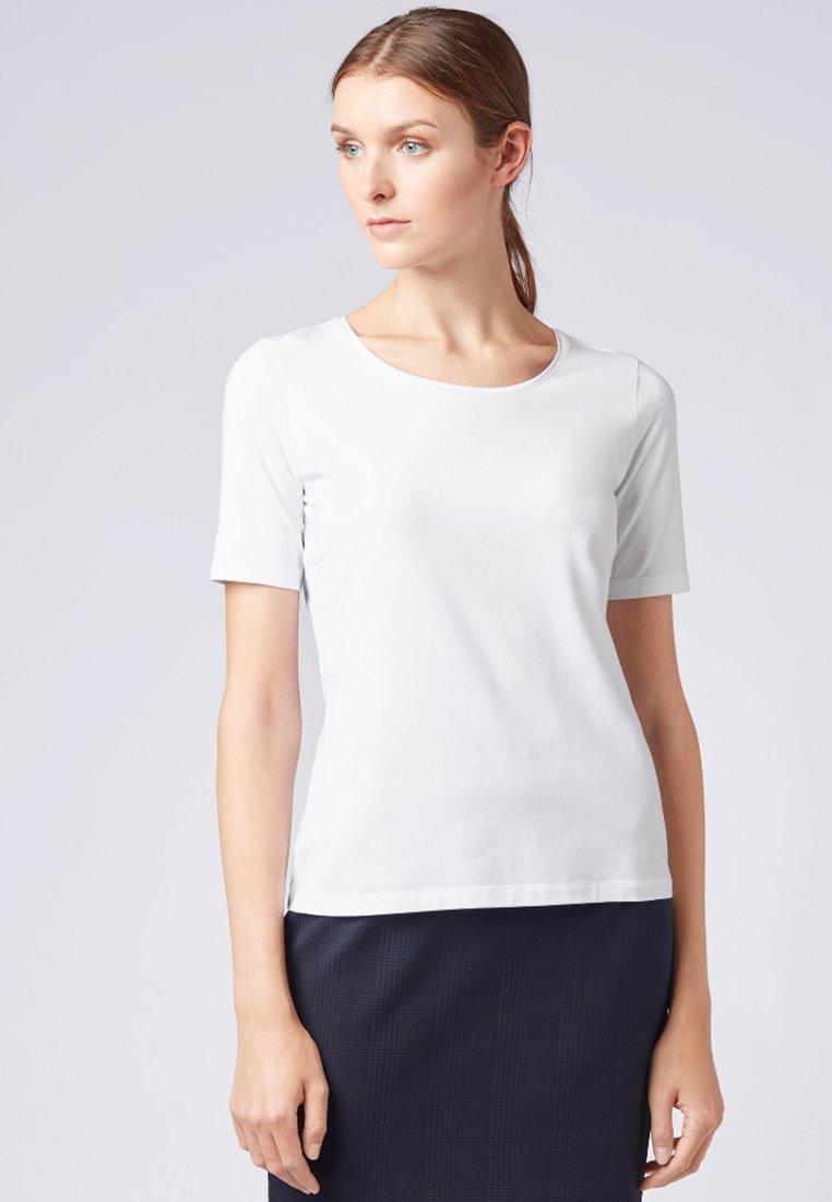 BOSS - EMMSI - Basic T-shirt - white