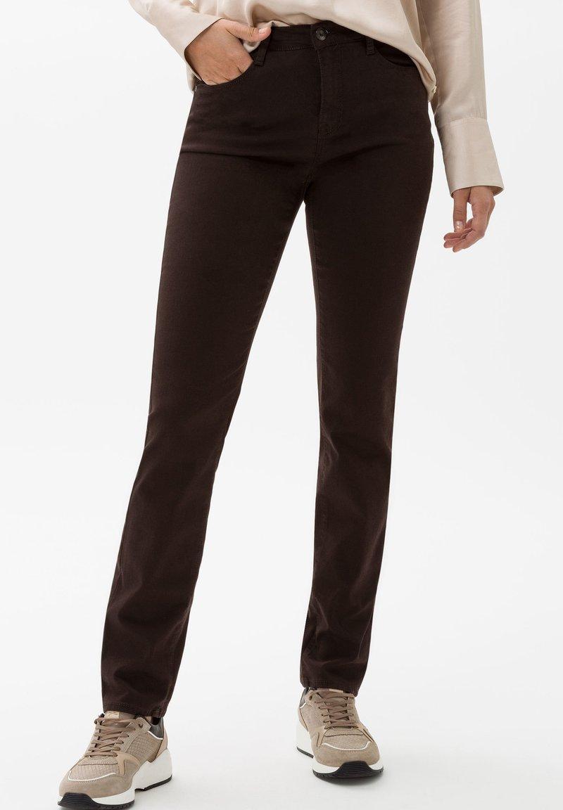 BRAX - STYLE CAROLA - Straight leg jeans - brown