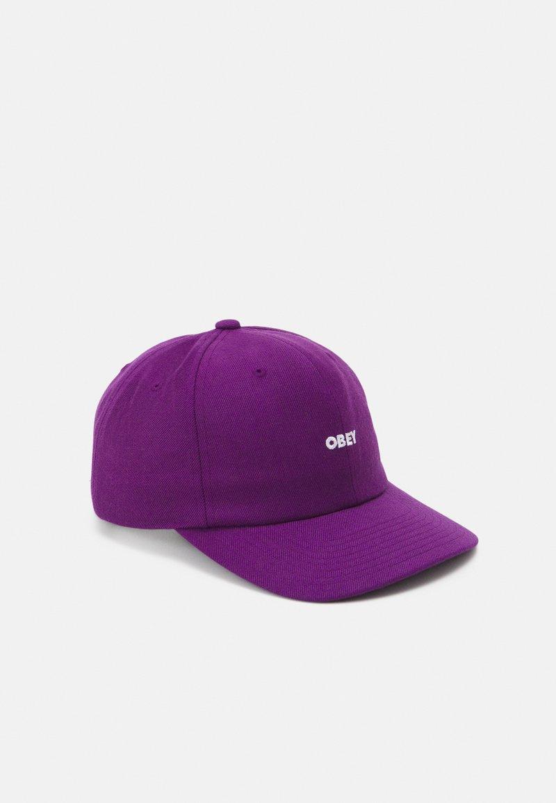 Obey Clothing - SERGE PANEL STRAPBACK UNISEX - Lippalakki - purple magic