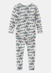 GAP - TODDLER BOY XMAS - Pyjama set - ivory frost - 1