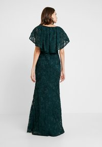 Adrianna Papell - SOUTACHE CAPE GOWN - Occasion wear - dusty emerald - 3