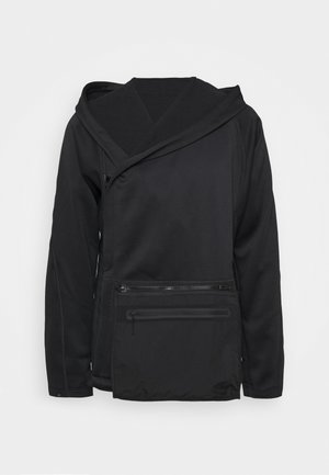 ATHLETICS TECH COLD.RDY HOODED TRACK - Zip-up hoodie - black
