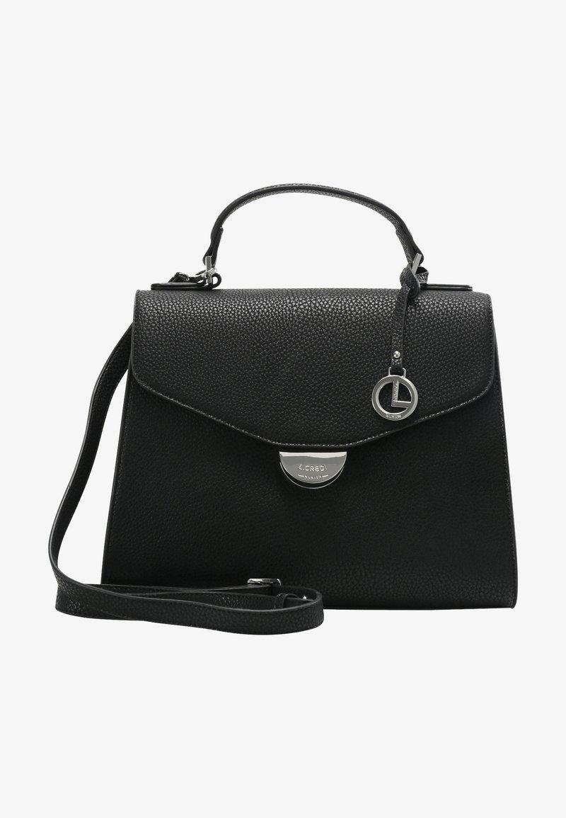 L.CREDI - HENKELTASCHE FENJA - Handbag - schwarz