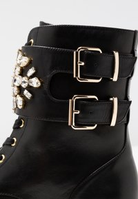 Kurt Geiger London - STOOP - Lace-up ankle boots - black - 2