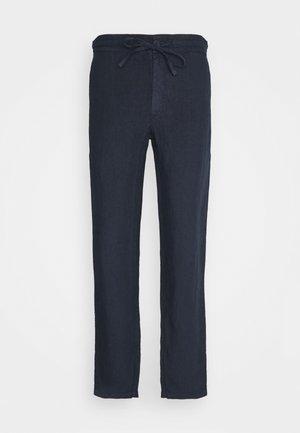 TROUSERS - Pantaloni - blue navy