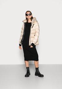 Calvin Klein - BELTED DOWN JACKET - Down jacket - grey - 1