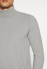 INDICODE JEANS - BURNS - Pullover - mottled light grey - 5