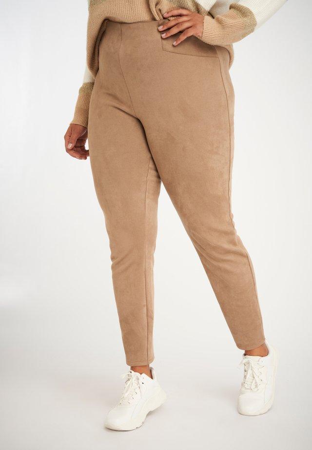 Legging - midden bruin