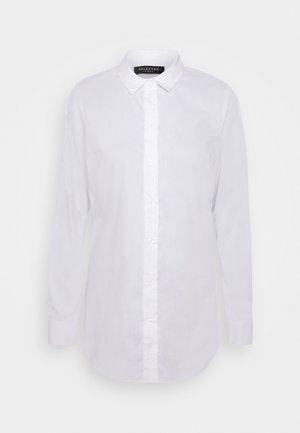 SLFORI SIDE ZIP SHIRT TALL - Blouse - bright white