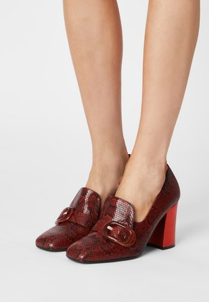 RAIDIS - Classic heels - coquer brick