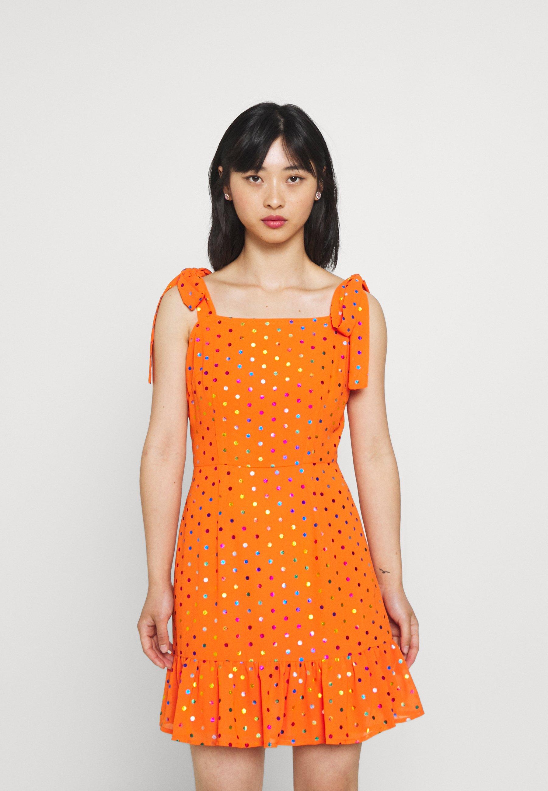 Mujer RAINBOW FOIL MINI DRESS - Vestido informal