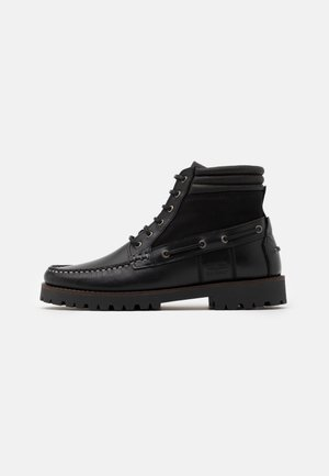 PORT - Lace-up ankle boots - black