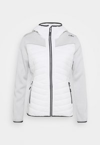 CMP - WOMAN JACKET FIX HOOD - Kurtka Outdoor - white - 0