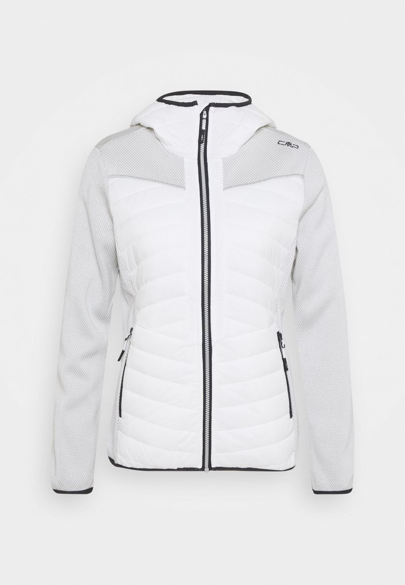 CMP - WOMAN JACKET FIX HOOD - Kurtka Outdoor - white
