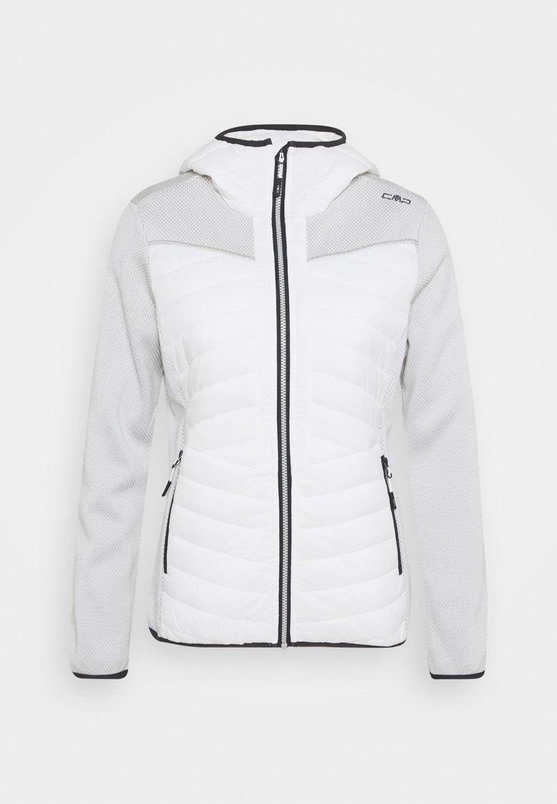 CMP - WOMAN JACKET FIX HOOD - Outdoor jakke - white