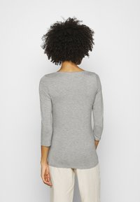 Tommy Hilfiger - BOAT NECK TEE 3/4 - Long sleeved top - grey - 2