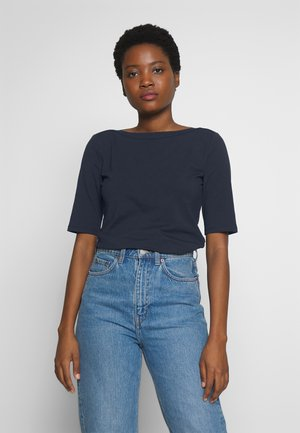 BOATNECK - Basic T-shirt - sky captain blue