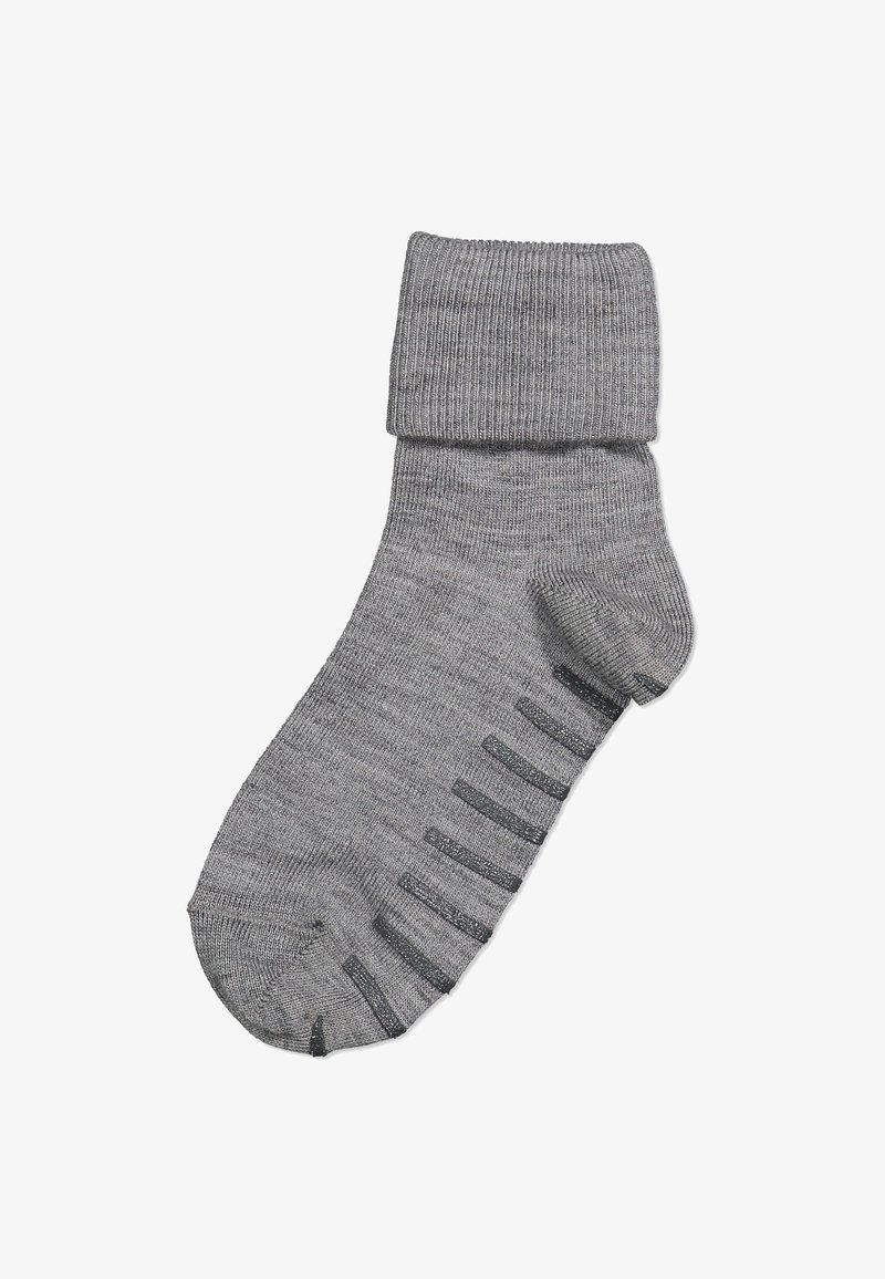 Polarn O. Pyret - WITH ANTI-SLIP - Socks - greymelange