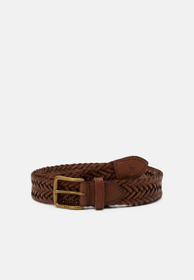 Pásek - dark brown