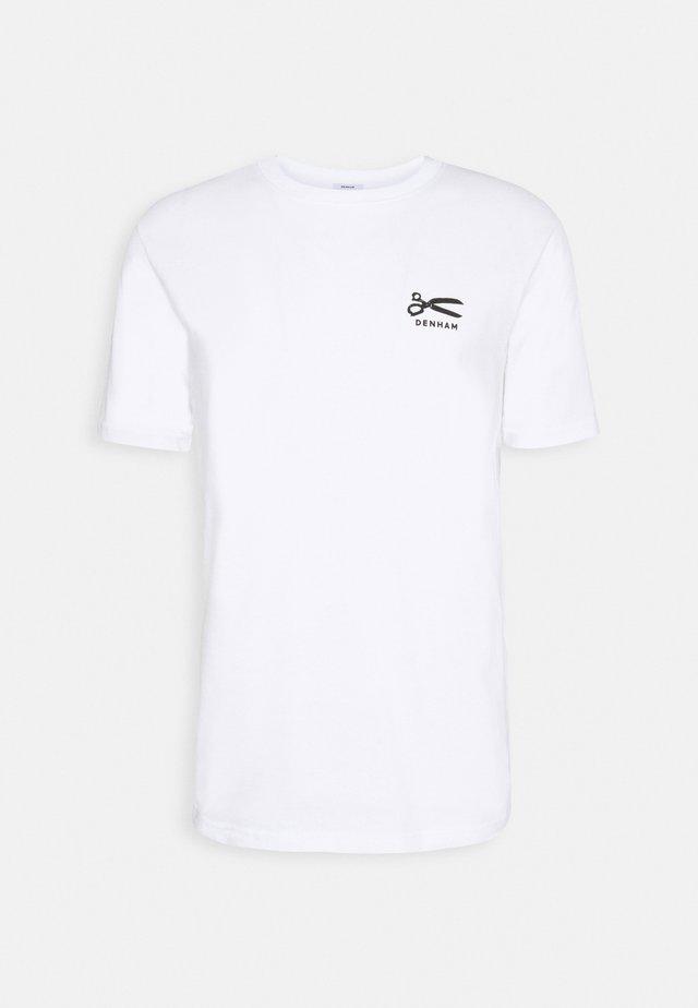 TOUKAY TEE - T-shirt print - white