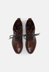 Marco Tozzi - Lace-up ankle boots - cognac - 5