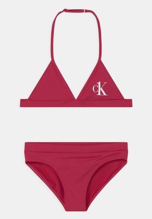 TRIANGLE SET - Bikini - pink heart