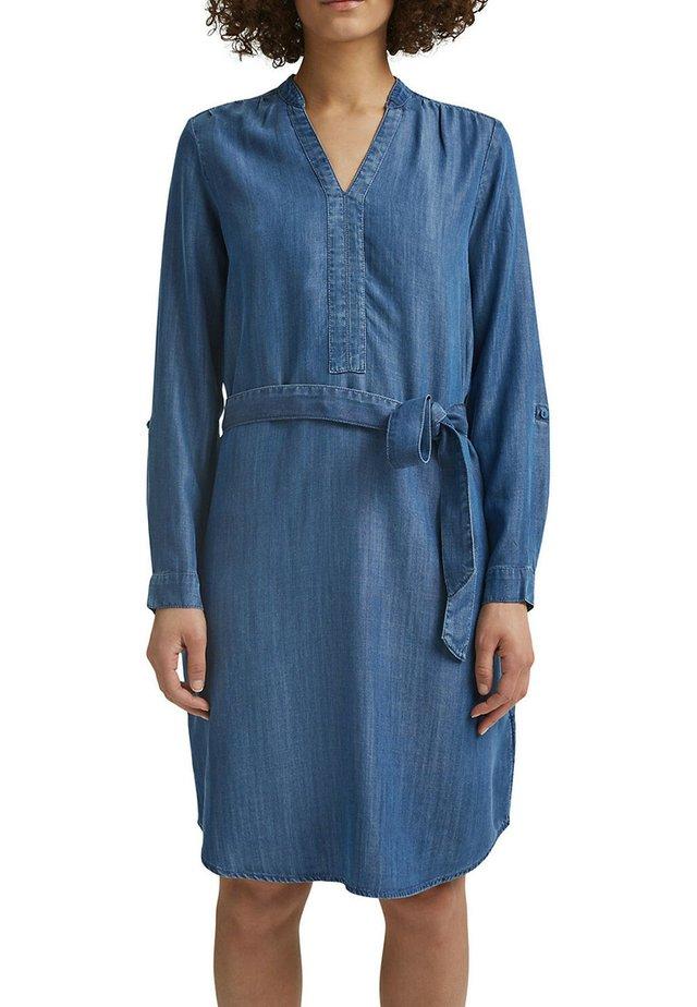 Denim dress - blue medium washed