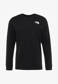 The North Face - SIMPLE DOME - Langærmede T-shirts - black - 3