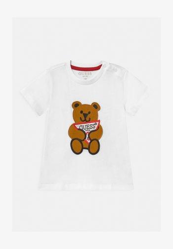 BABY UNISEX - Print T-shirt - true white