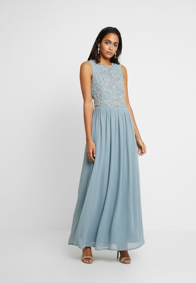 PAULA MAXI - Galajurk - light blue