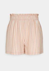 ONLY - ONLJOLLA - Shorts - peach melba/cloud dancer - 3