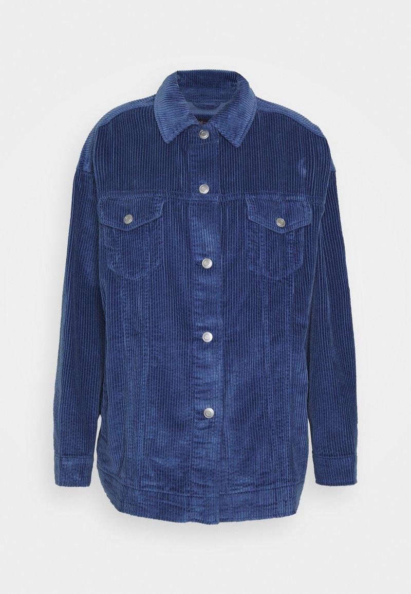 Marks & Spencer London - OVERSHIRT - Summer jacket - blue