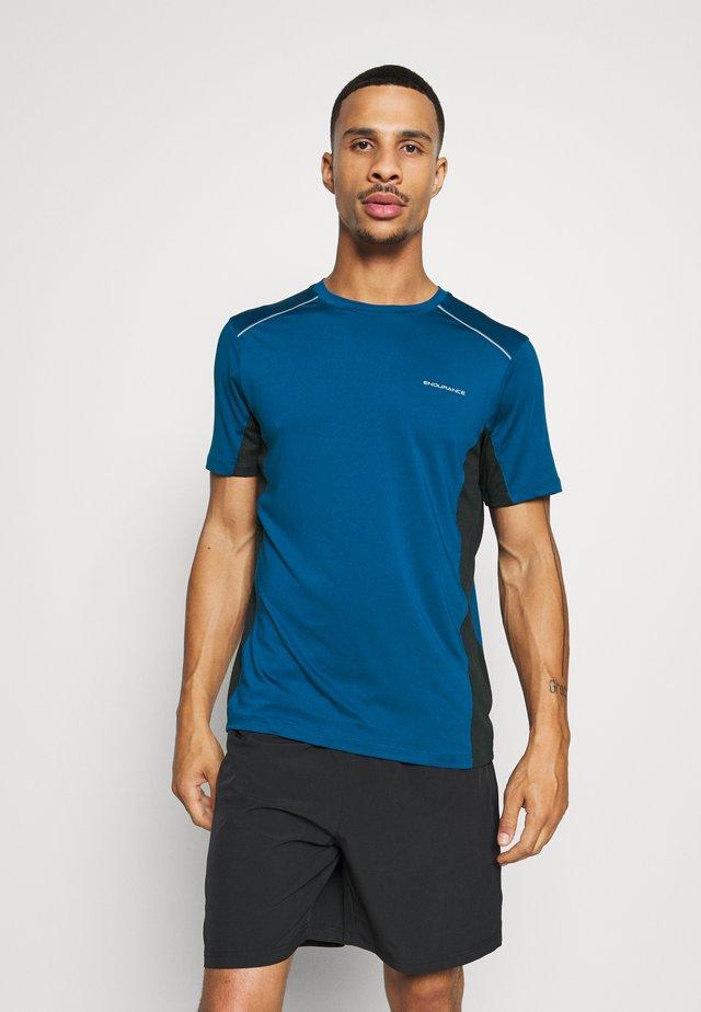 SHAMS TEE - T-shirt con stampa - poseidon