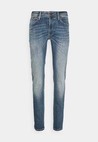 HATCH - Slim fit jeans - dark blue denim