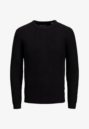 JCOSTRONGER CREW NECK - Jersey de punto - black