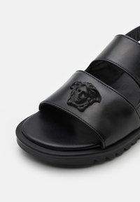 Versace - Sandals - black - 5