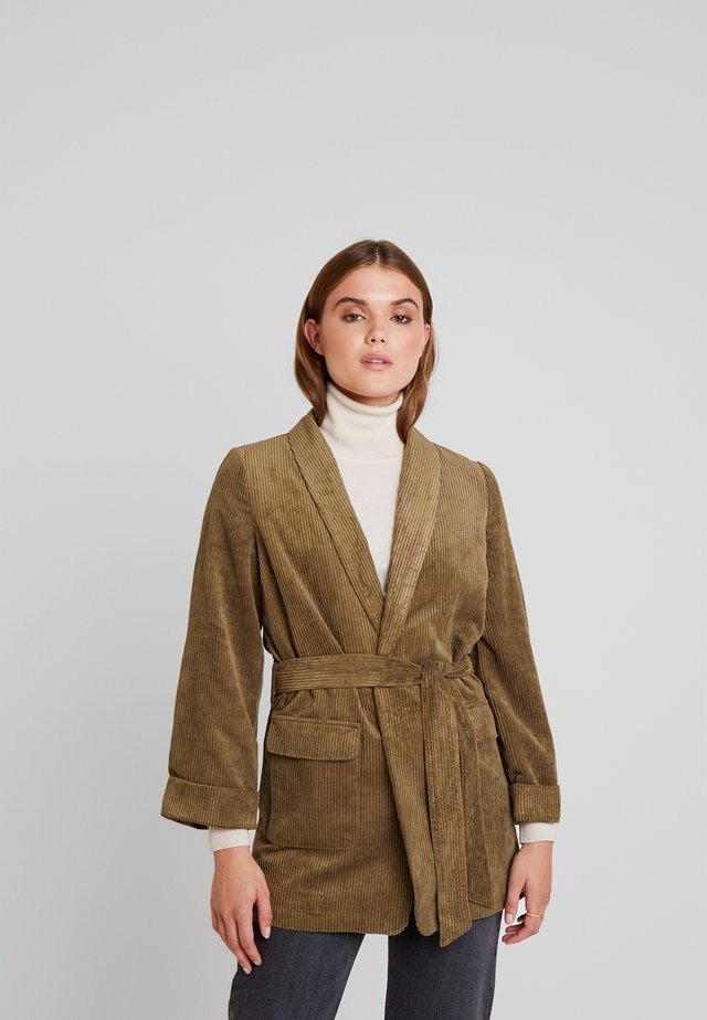 YASROYA - Manteau court - military olive