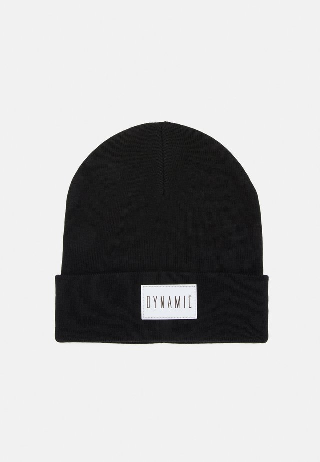 REFLECTIVE BADGE FOLDED UP - Beanie - black