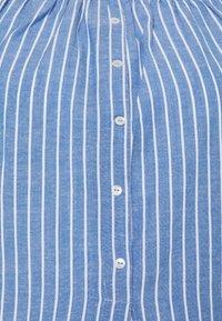 ONLY - ONLMARTHA OFFSHOULDER - Blouse - cashmere blue/cloud dancer - 2