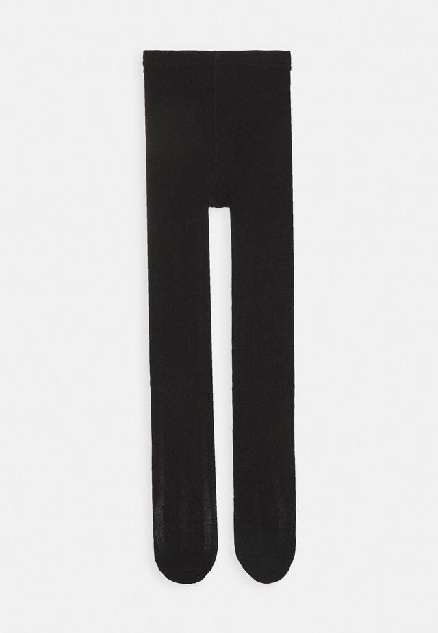GIRL CABLE - Sukkahousut - true black