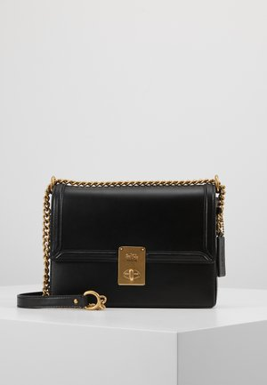 REFINED HUTTON SHOULDER BAG - Sac à main - black