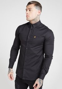 SIKSILK - SIKSILK LONG SLEEVE SMART SHIRT - Overhemd - black - 4