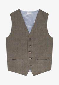 EVION SPLIT - Waistcoat - brown
