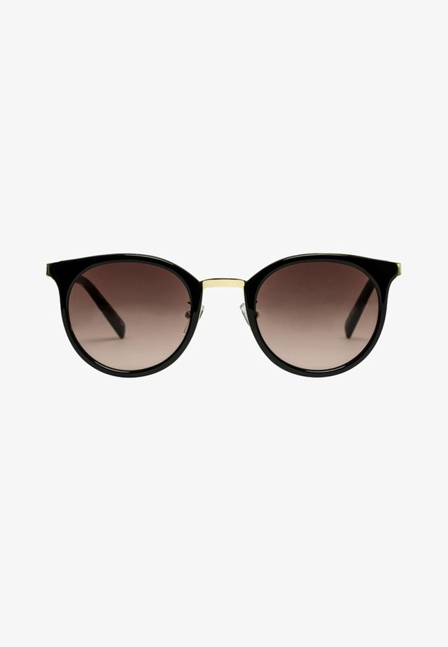NO LURKING - Sunglasses - black/gold