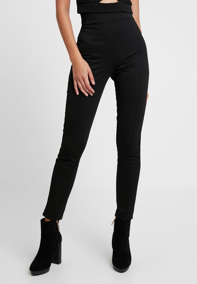 SHAPE HIGH WAIST PANT - Kangashousut - black